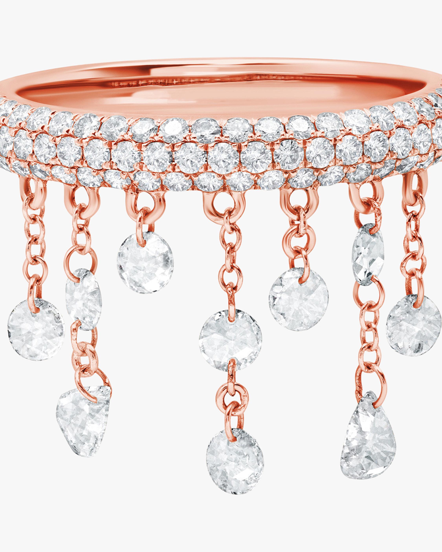 Graziela Gems Rose Gold Floating Diamond Ring 2