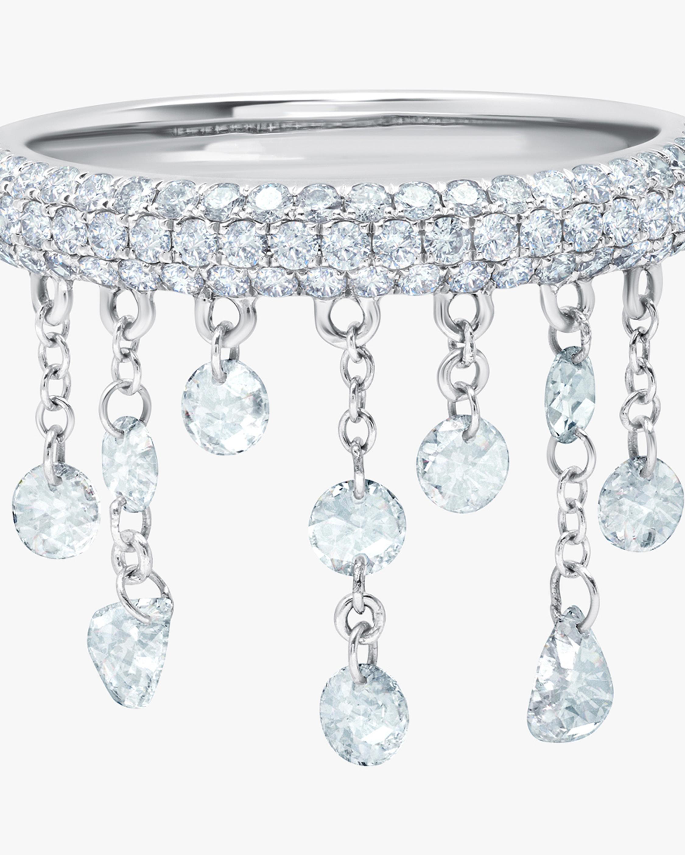 Graziela Gems White Gold Floating Diamond Ring 2