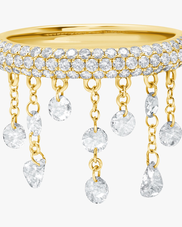 Graziela Gems Yellow Gold Floating Diamond Ring 2