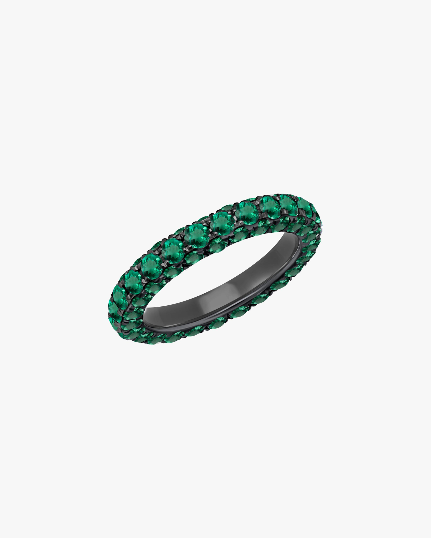 Graziela Gems Emerald Three-Sided Band 1
