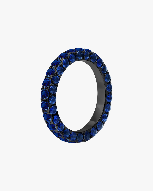 Graziela Gems Sapphire Three-Sided Band 1