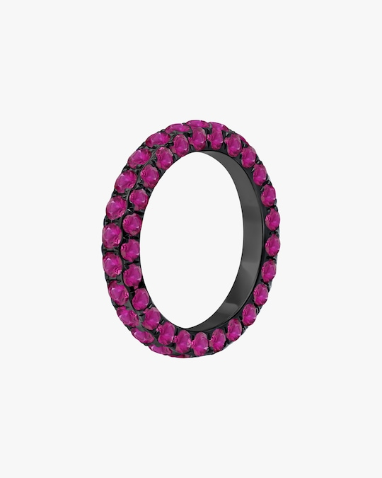 Graziela Gems Ruby Three-Sided Band 0
