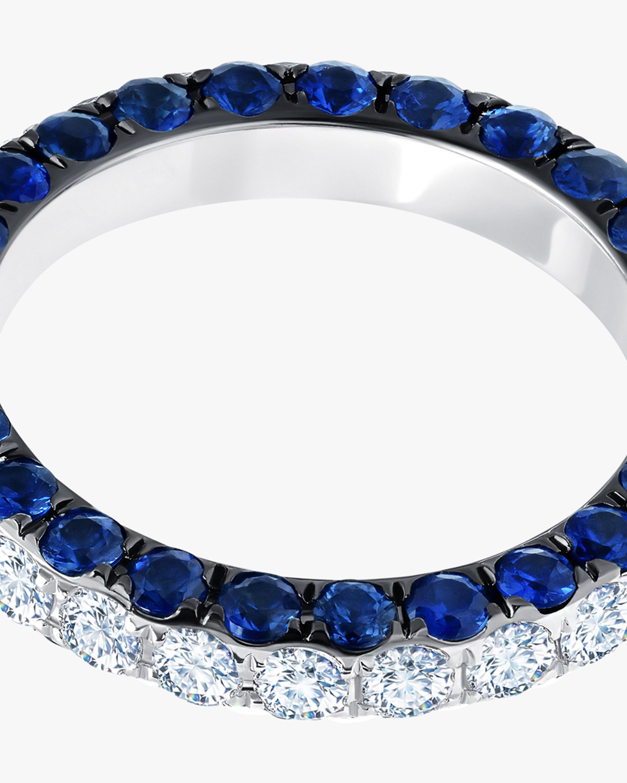 Graziela Gems Sapphire & Diamond Three-Sided Band 2