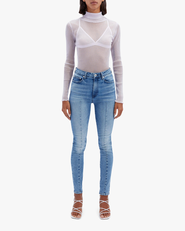 Jonathan Simkhai STANDARD Ray High-Rise Ankle Skinny Jeans 2