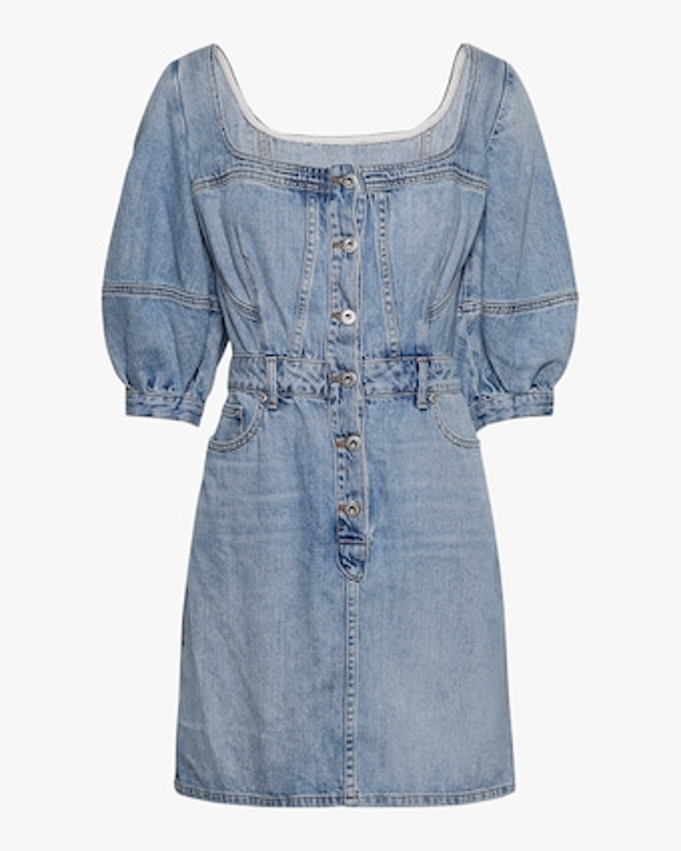 Jonathan Simkhai STANDARD Poppy Puff-Sleeve Mini Dress 1