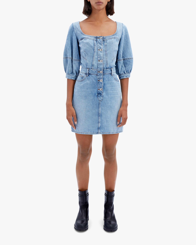 Jonathan Simkhai STANDARD Poppy Puff-Sleeve Mini Dress 2