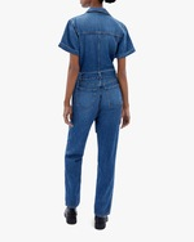Jonathan Simkhai STANDARD Golda Zip-Front Jumpsuit 1