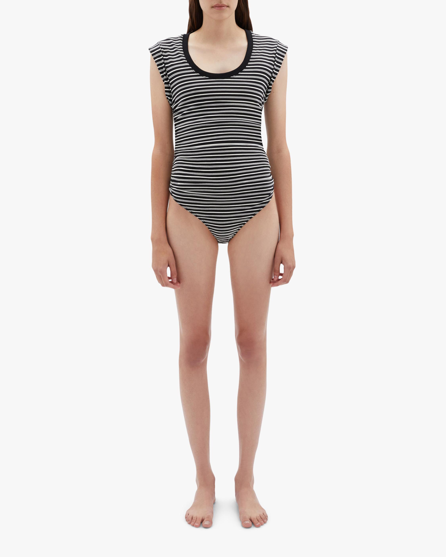 Jonathan Simkhai STANDARD Bower Sleeveless Bodysuit 1