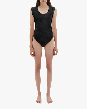 Jonathan Simkhai Bower Sleeveless Bodysuit 2
