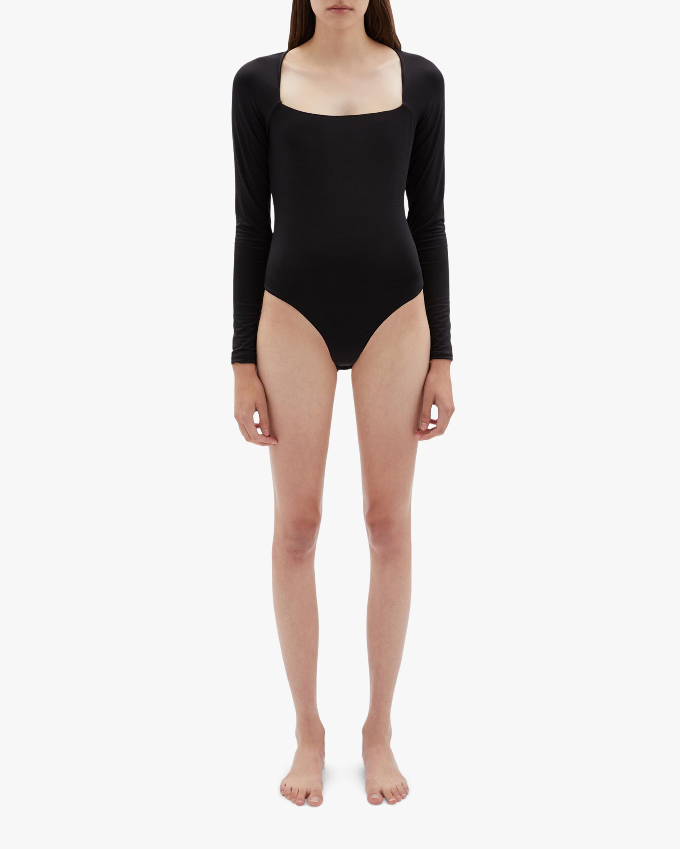 Jonathan Simkhai STANDARD Marlowe Long-Sleeve Bodysuit 2
