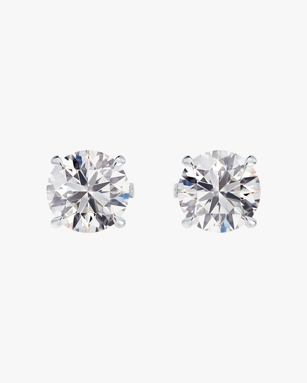 Forevermark Classic 1 Carat Four-Prong Diamond Stud Earrings 2