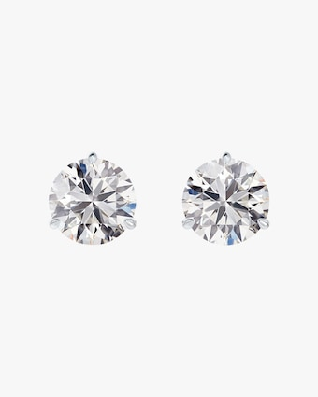 Forevermark Classic .5 Carat Three-Prong Diamond Stud Earrings 1