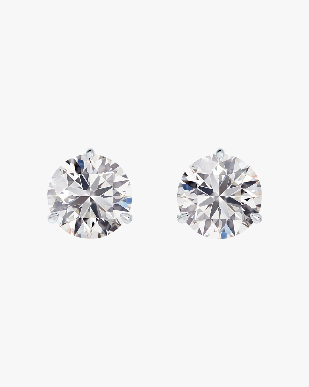 Forevermark Classic 1 Carat Three-Prong Diamond Stud Earrings 1