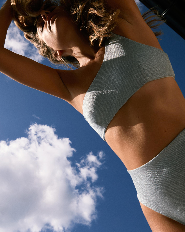 Sara Cristina 90's Cut High-Waist Bikini Bottom 1