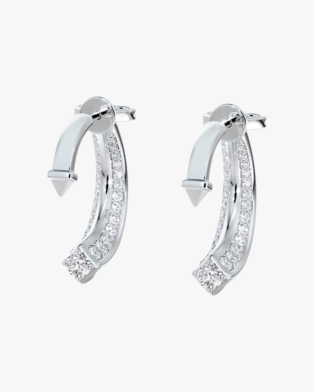 De Beers Forevermark Pavé Diamond Jacket Earrings 1