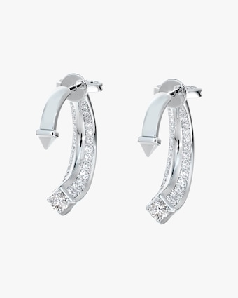Forevermark Pavé Diamond Jacket Earrings 1