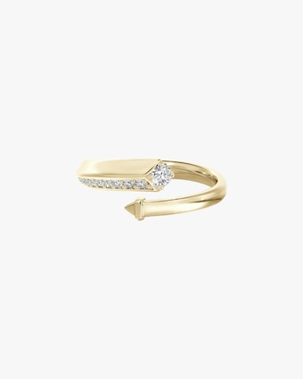 Forevermark Pavé Diamond Bypass Ring 1