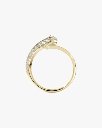 Forevermark Pavé Diamond Bypass Ring 2