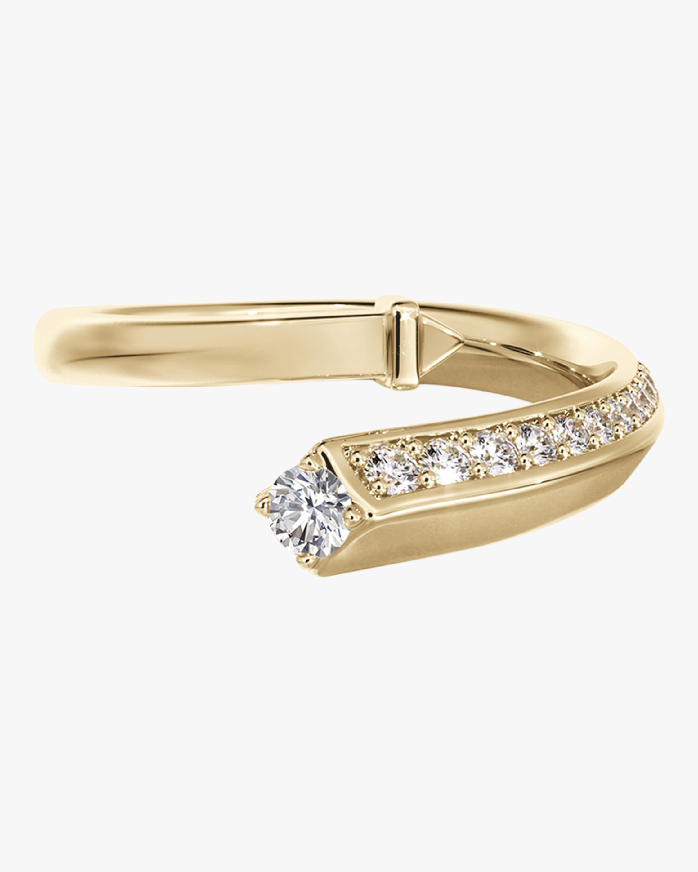 De Beers Forevermark Pavé Diamond Bypass Ring 0