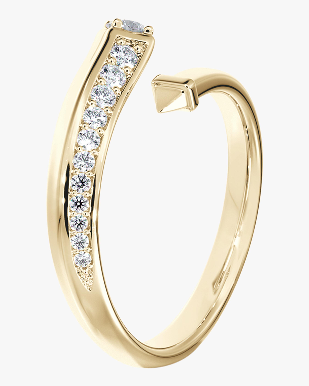 De Beers Forevermark Pavé Diamond Bypass Ring 1