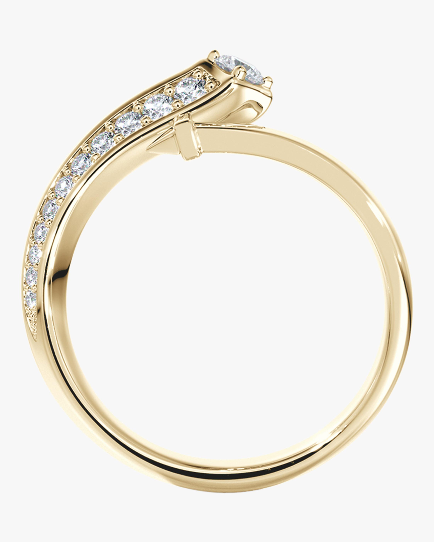 De Beers Forevermark Pavé Diamond Bypass Ring 2