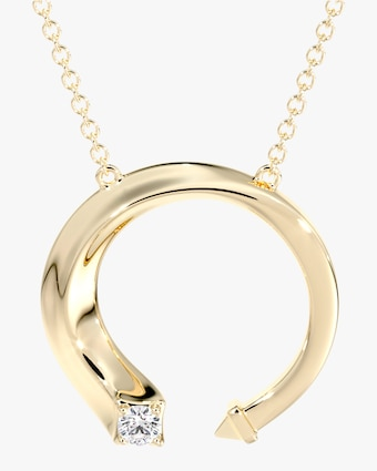 Forevermark Gold & Diamond Pendant Necklace 1