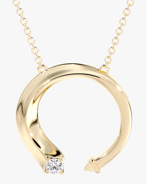 De Beers Forevermark Gold & Diamond Pendant Necklace 0