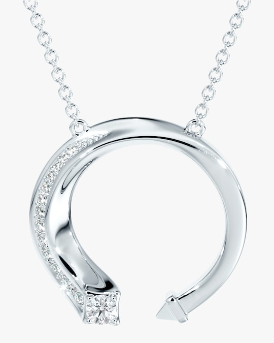 Forevermark White Gold & Diamond Pendant Necklace 0
