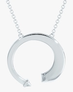 Forevermark White Gold & Diamond Pendant Necklace 1