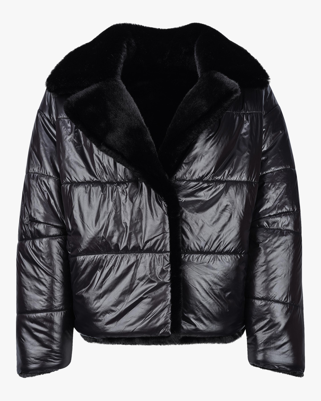 HEURUEH Faux Fur Reversible Moto Jacket 1