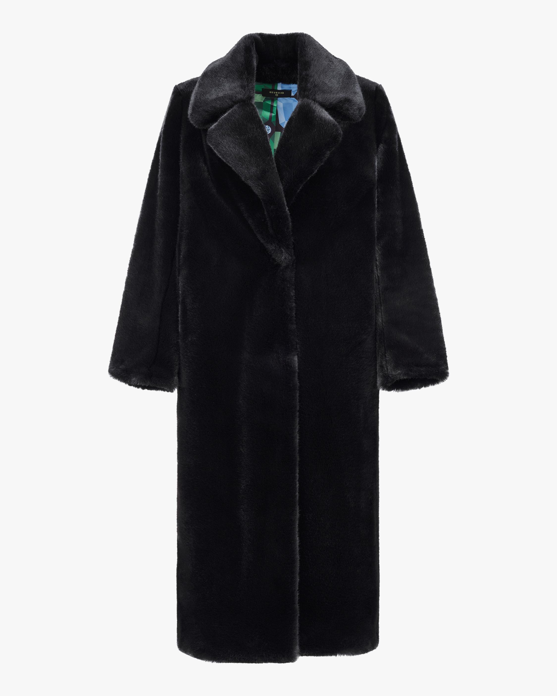 HEURUEH Faux Fur Top Coat 1