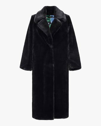 HEURUEH Faux Fur Top Coat 1