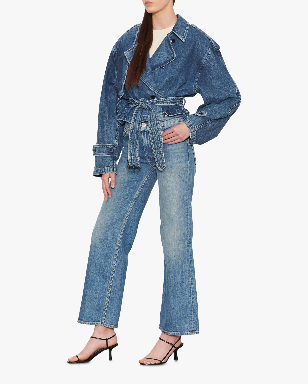 Hudson Rosie High-Rise Wide-Leg Jeans 2