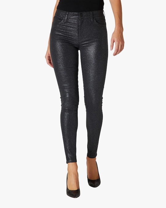 Hudson Barbara High-Rise Super-Skinny Ankle Jeans 0