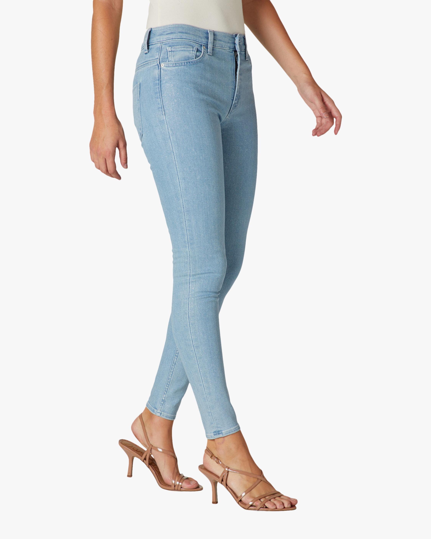 Hudson Barbara High-Rise Super Skinny Ankle Jeans 2
