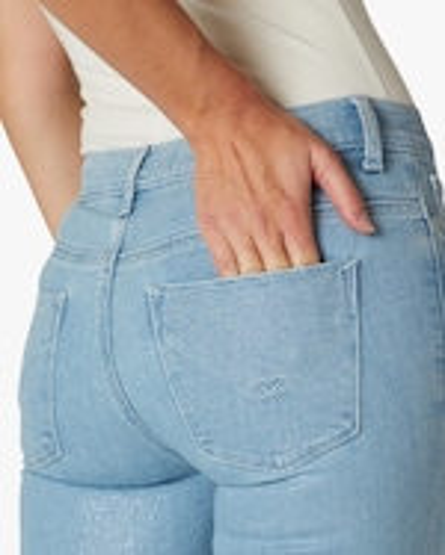 Hudson Barbara High-Rise Super-Skinny Ankle Jeans 4