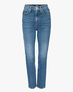 Hudson Holly High-Rise Straight Crop Jeans 0