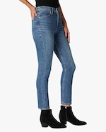 Hudson Holly High-Rise Straight Crop Jeans 2