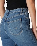 Hudson Holly High-Rise Straight Crop Jeans 5