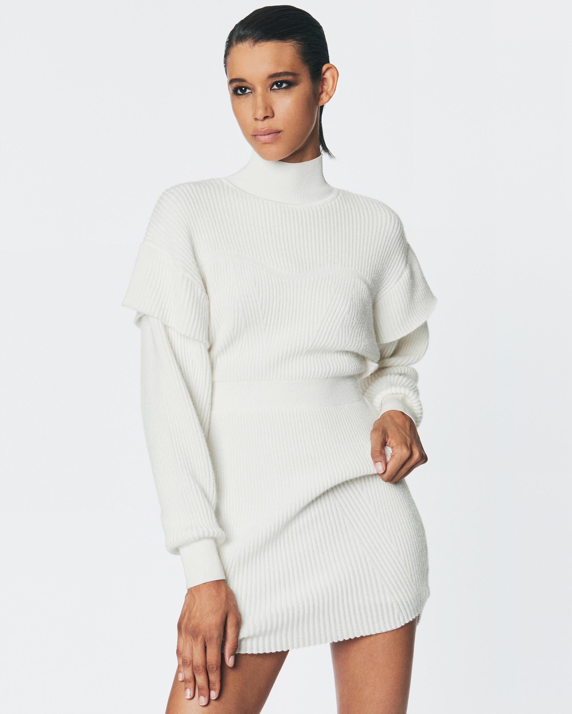 Herve Leger Tinsel Sweater Dress 2
