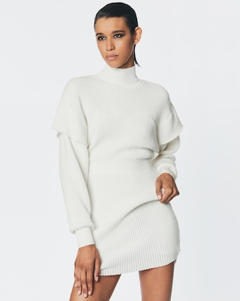 Herve Leger Tinsel Sweater Dress 2