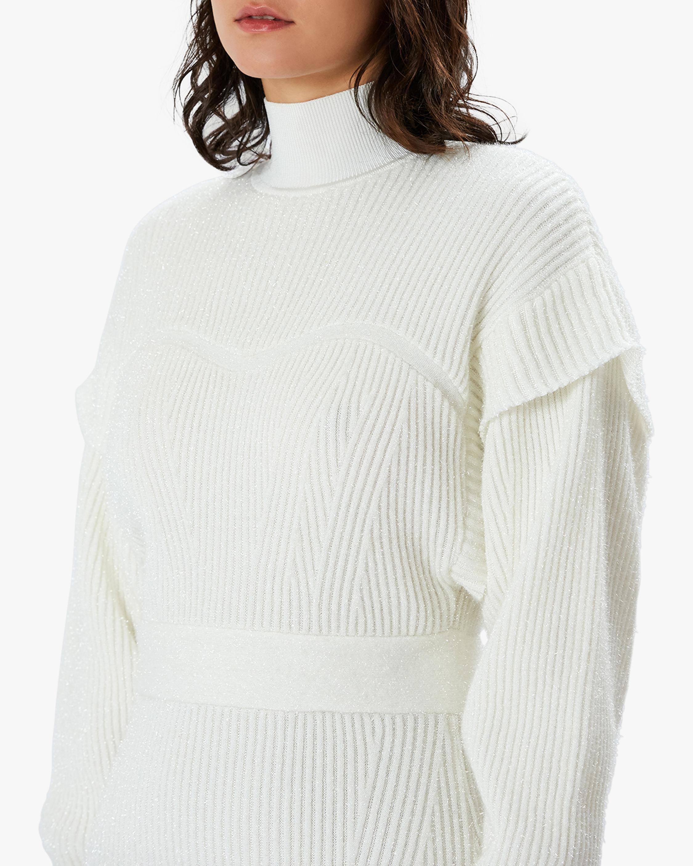 Herve Leger Tinsel Sweater Dress 5