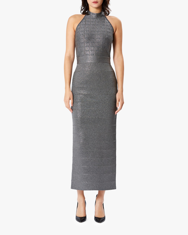 Herve Leger Mockneck Icon Dress 1