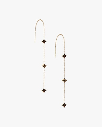 Jac + Jo 14k Gold Gothic Threaders 1