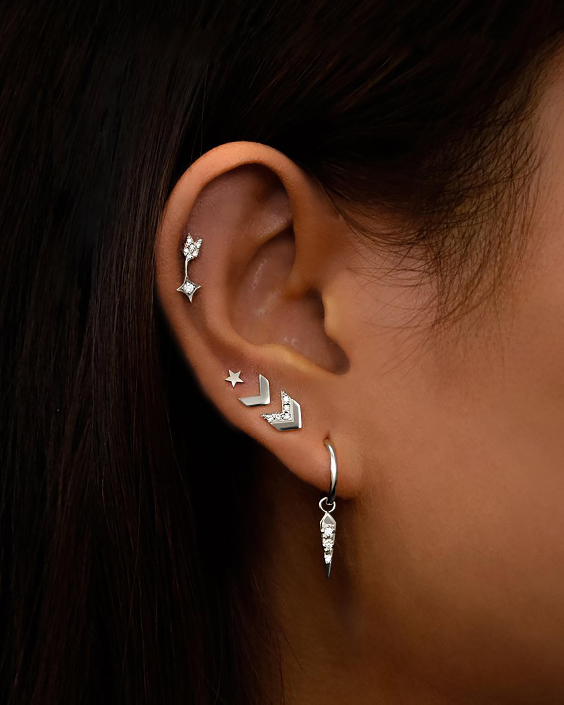 Jac + Jo Arrow Tail Stud Earrings 2