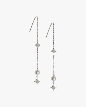 Jac + Jo Silver & Pearl Gothic Threaders 1