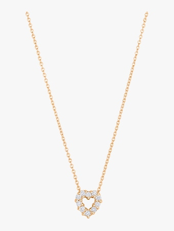 Roberto Coin Diamond Heart Pendant Necklace 1