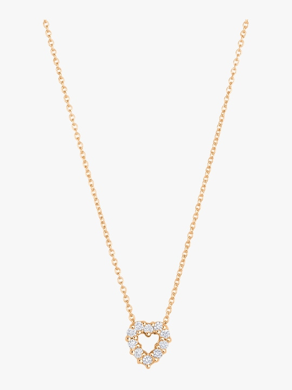 Roberto Coin Diamond Heart Pendant Necklace 0
