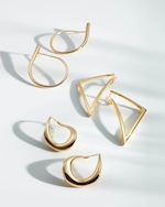 Roberto Coin Gold Teardrop Earrings 2