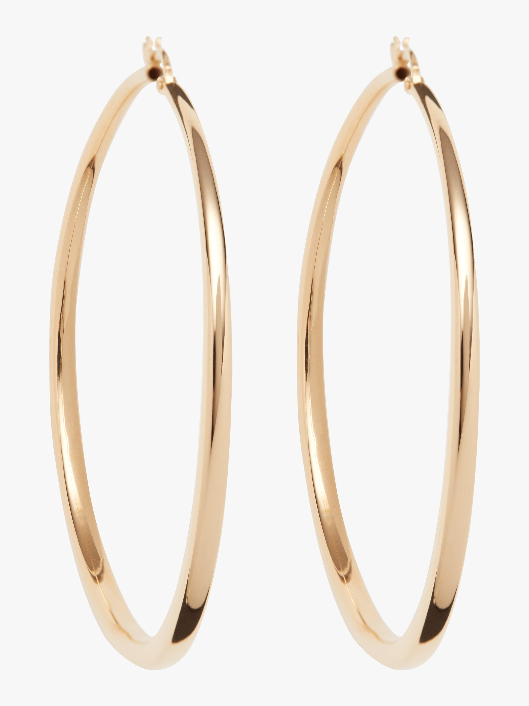 Roberto Coin Gold Hoop Earrings 0